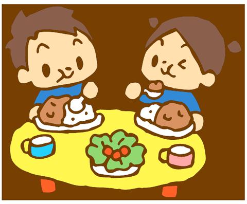 給食とお弁当
